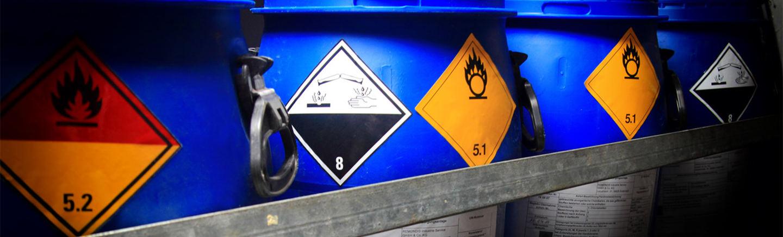 Arbeitssicherheit/ Gefahrstoffe